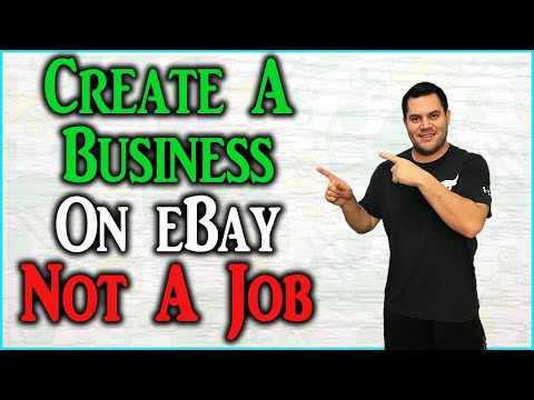 How To Create A Profitable Ebay Business NOT A JOB!