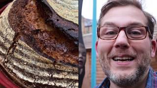 Family Cook Recipe, Baking a (No-Knead) Sourdough Bread