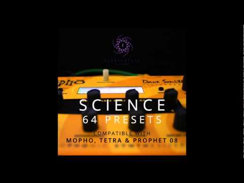 Science - 64 presets for MoPho