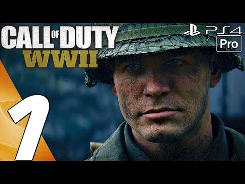 Thumbnail: Call of Duty WW2 - Gameplay Walkthrough Part 1 - Prologue (Full Game) PS4 PRO