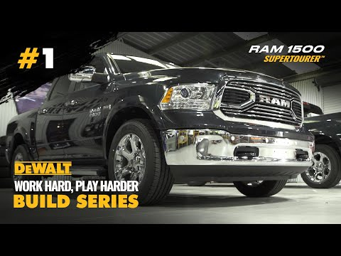 First Australian Custom HEMI RAM 1500 Build - DeWalt Build Series EP. 1