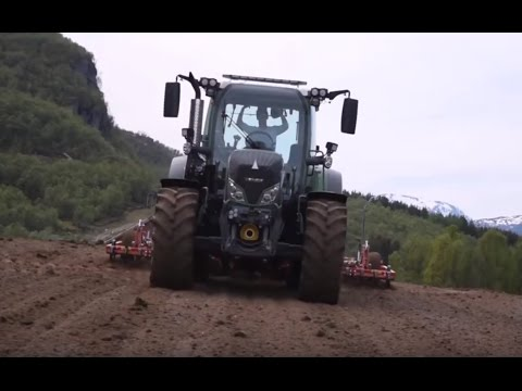 Spring Work| Norwegian Version| New Fendt 516! GoPro| HD