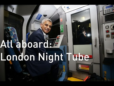 London Mayor goes Underground as Night Tube finally begins