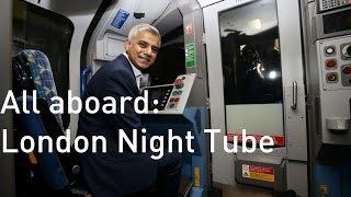 بالفيديو - عمدة لندن في مترو الأنفاق