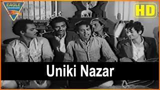 Beqasoor (1950 film) Hindi Movie    Uniki Nazar Video Song    Madhubala    Eagle Hindi Movies
