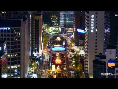 KOREA TIMELAPSE   Night of Seoul