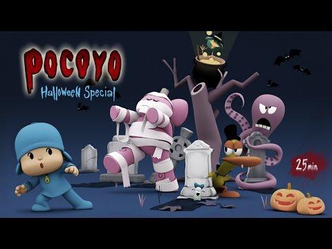 Pocoyo Halloween: Spooky Movies for Kids - 25 minutes of fun!