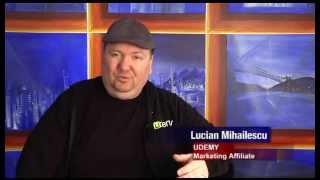 Udemy Canada - Rompost TV News Report, Lucian Mihailescu (English Subtitles)