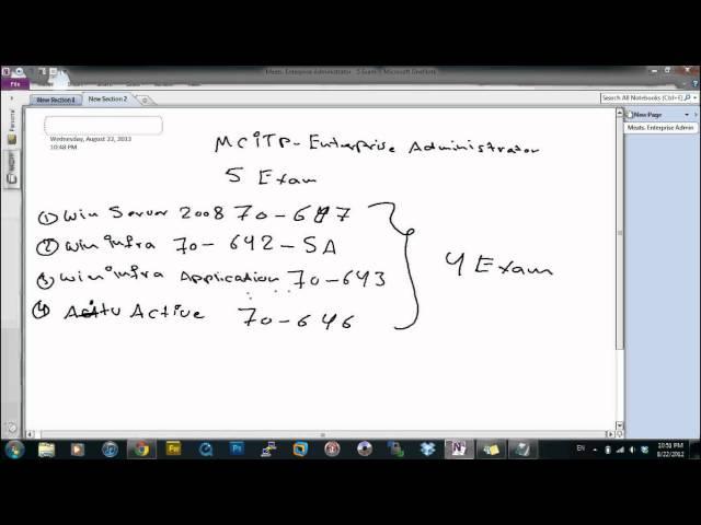MCITP- Exam 70-680 Configuring Windows 7