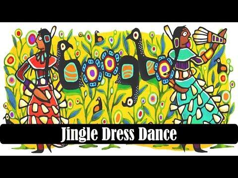 Jingle Dress Dance Google Doodle