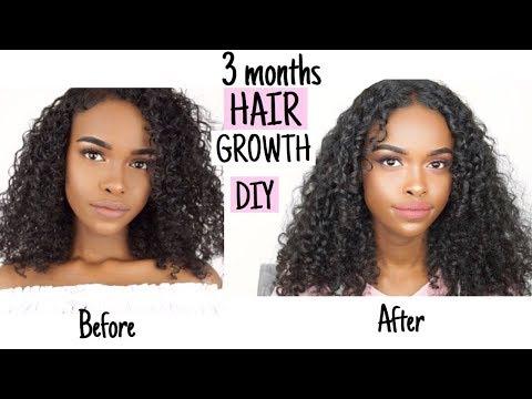 DIY HAIR MASK FOR GROWTH & DAMAGED HAIR