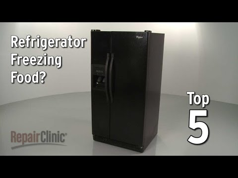 Top 5 Reasons Refrigerator Is Freezing Food?