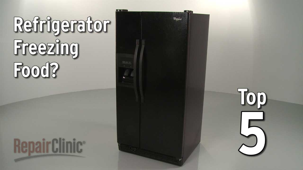 Top Reasons Fridge Freezes Food Refrigerator Troubleshooting Youtube Circuit Board Timer 33002561 Repaircliniccom