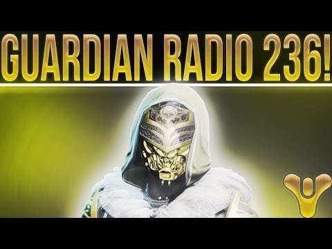 Guardian Radio Ep 236. (Facecam Finally!) Crimson Days, January Update, State Of Destiny 2 & More!