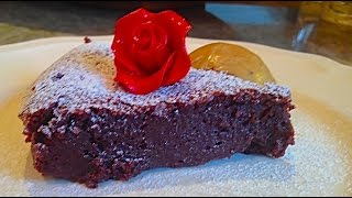 Flirting With Flavors: Gluten Free Flourless Chocolate Almond Cake