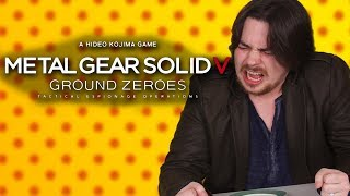 Egoraptor vs. GHOST PEPPER - Metal Gear Solid V: Ground Zeroes - Hot Pepper Game Review
