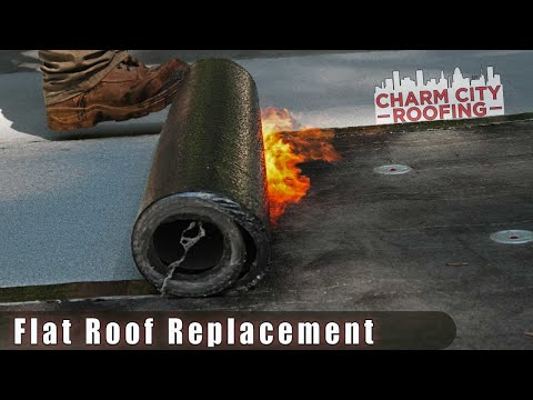 In-Depth Flat Roof Replacement Process By Charm City Roofing