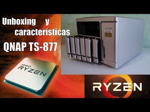 Unboxing Y Características Del QNAP TS-877