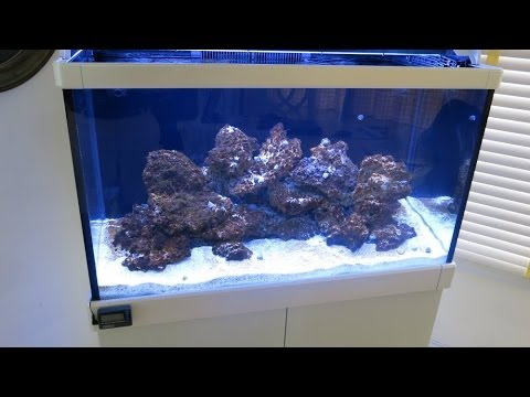 Red Sea Max C 250 Reef Aquarium Part 1 Assembly And