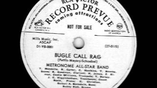 Bugle Call Rag by Metronome All Star Band on 1941 RCA Victor 78.
