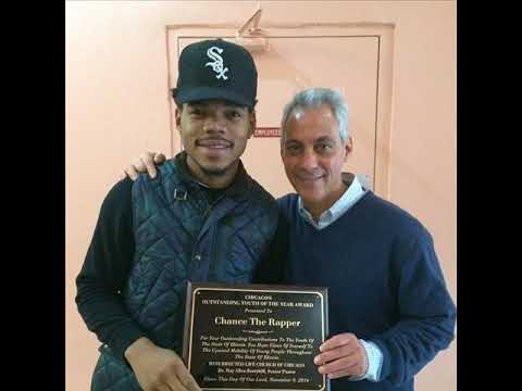 Chicago Mayor walks out on Chance the Rapper