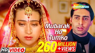 Video Mubarak ho Tumko ye Shadi | Haan Maine Bhi Pyaar Kiya | Akshay Kumar |karishma Kapoor | Filmigaane download MP3, 3GP, MP4, WEBM, AVI, FLV November 2017