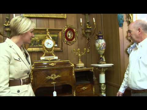 KKTV: Kerrie Kelly Goes Antiquing at Sonia Paine Antiques in Boston