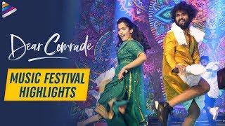 Dear Comrade Music Festival HIGHLIGHTS Vijay Deverakonda Rashmika Mandanna 2019 Telugu Movies