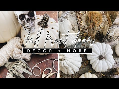 DIY Fall Front Porch Decor   Decorate With Me!