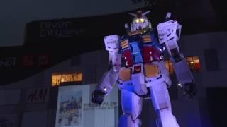 Life-Sized Gundam Statue Closing Ceremony