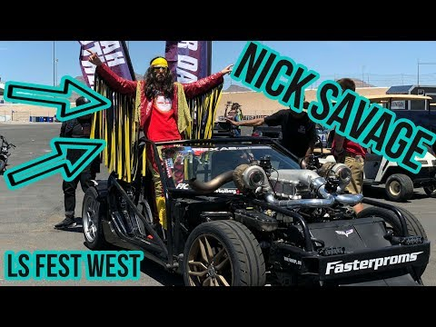 Nick Savage goes to LS FEST WEST! rides w Leroy