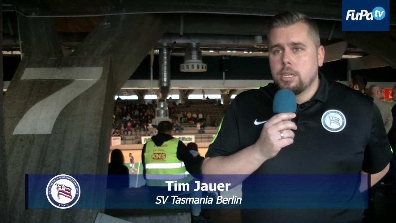 Tim Jauer heißt der neue SV Tasmania Berlin  Coach (06.01.18) #1