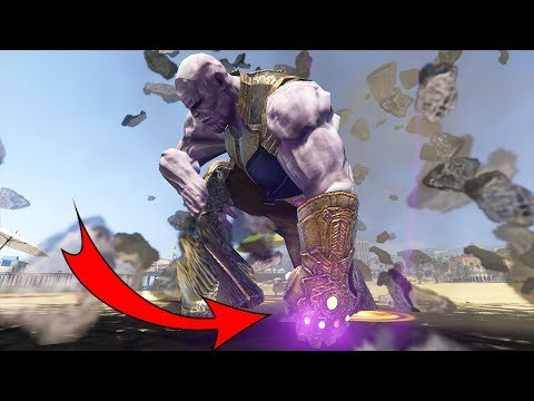 THANOS DESTROY GTA 5
