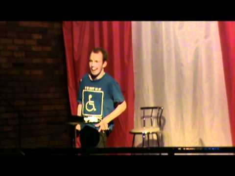 Highlights of Lost Voice Guy's debut stand up comedy gig ...