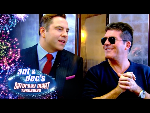 Little Ant & Dec Interview Britain's Got Talent Judges - Saturday Night Takeaway
