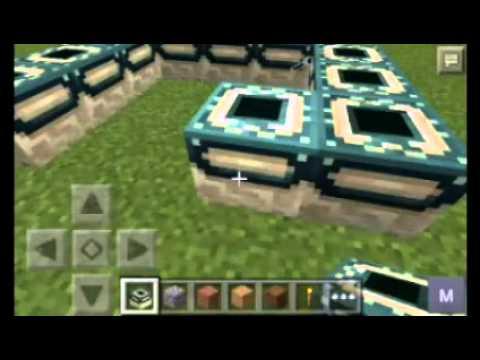 Minecraft pe mod do portal do fim apk na descrção