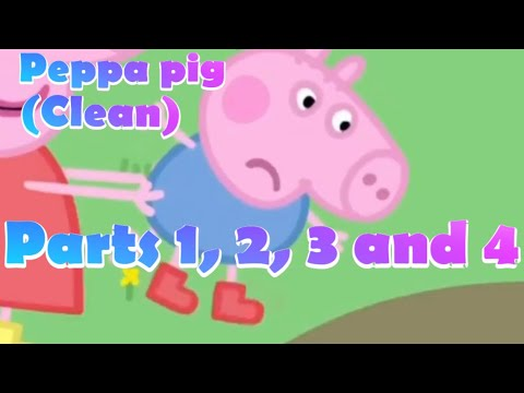 (Clean) peppa pig try not to laugh parts 1 to 4