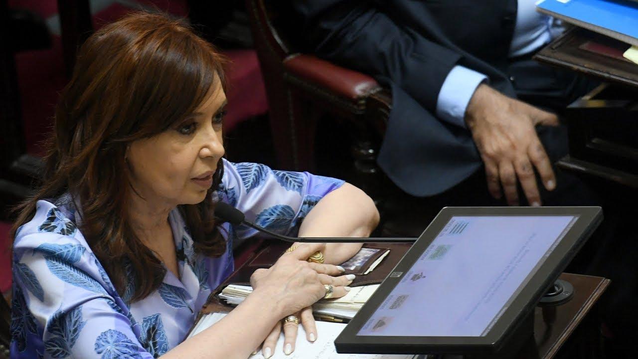 Resultado de imagen para cristina senadora