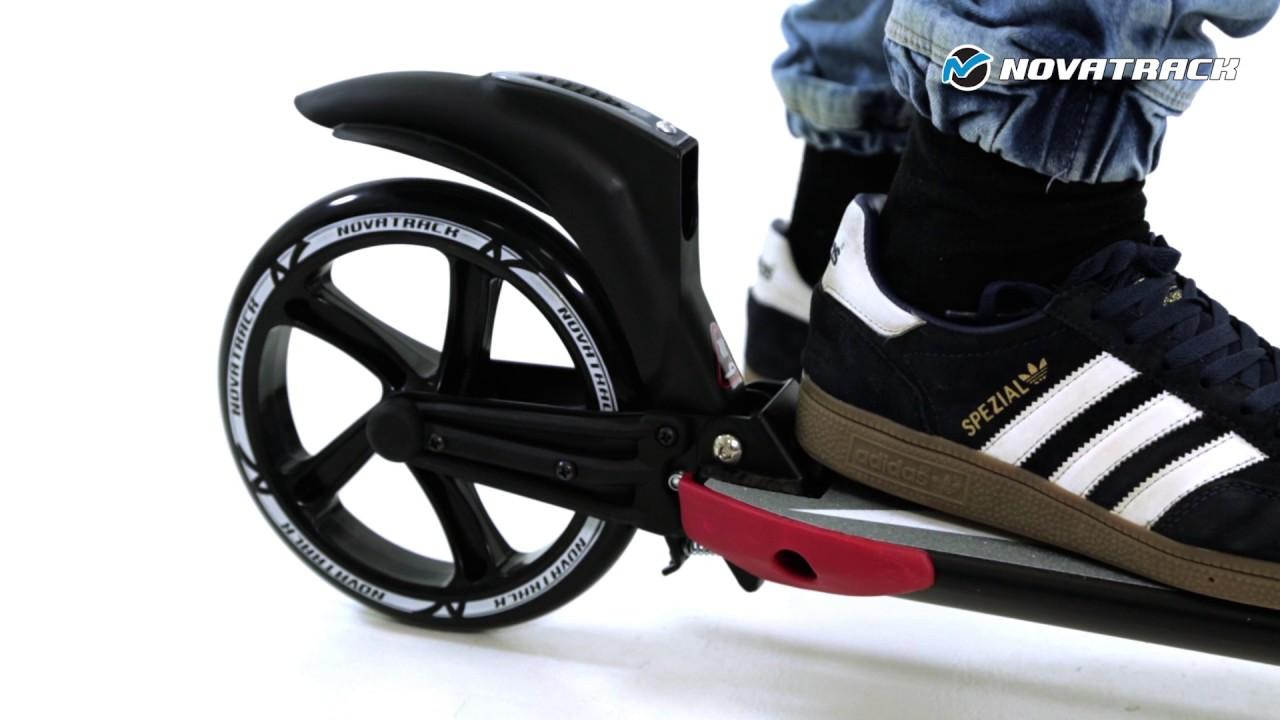 Самокат Explore Montre с надувными колесами в SAMOKATCLUB.RU - YouTube