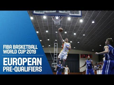Armenia V Slovak Republic - Full Game - FIBA Basketball World Cup 2019 - European Pre-Qualifiers