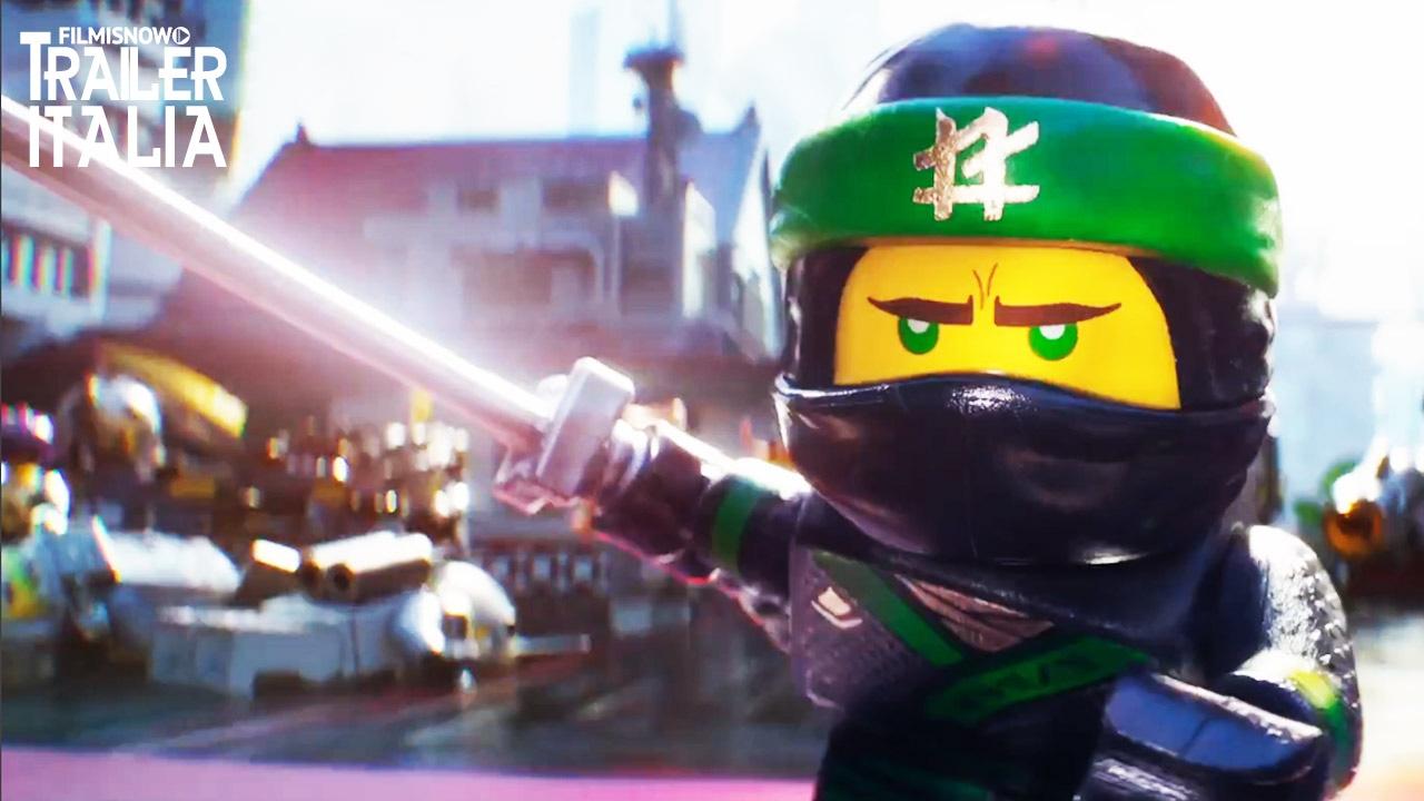 Lego ninjago il film divertentissimo primo trailer italiano youtube