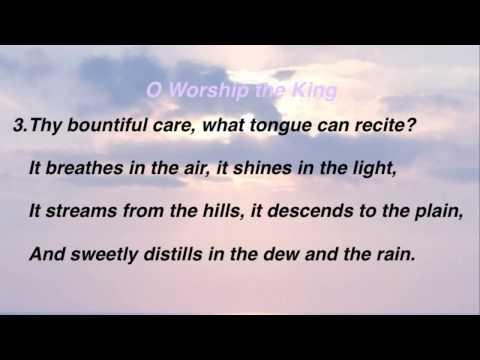 O Worship the King - HymnSite com - The Baptist Hymnal No  016