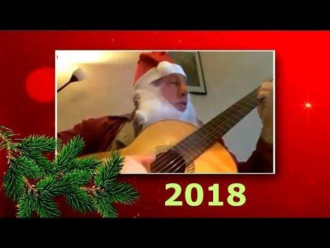 Дед Мороз 2018 - Гитара это праздник который всегда с тобой