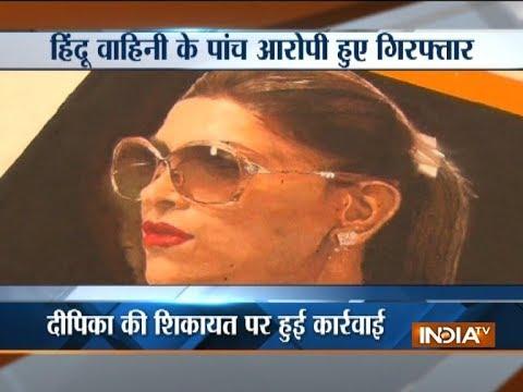 Five held for vandalising rangoli of movie 'Padmavati' in Surat