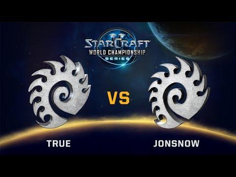 StarCraft 2 - True vs. JonSnow (ZvZ) - WCS Valencia Challenger NA - Playoff Losers Semis