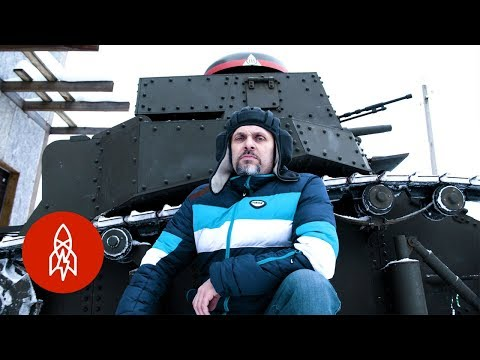 Recreating Soviet Military Tanks