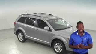 G95670TR - Used, 2016 Dodge Journey, SXT, Silver, Test Drive, Review, For Sale -