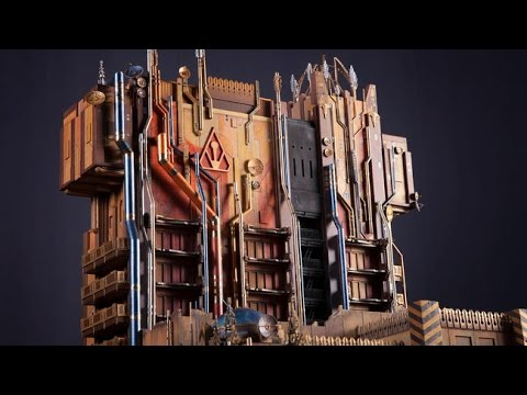 New Guardians of the Galaxy Ride: Mission Breakout - First Look (HD)