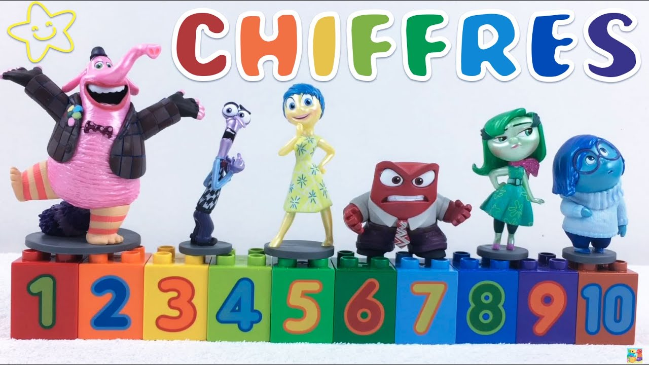 Souvent Apprendre les chiffres en français de 1 à 10 en s'amusant avec  UK56