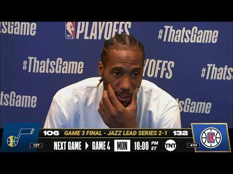 Download Kawhi Leonard Game 3 Postgame Press Conference | #NBAPlayoffs